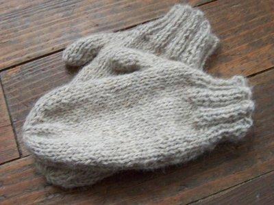 Comment tricoter des moufles facile - Comment tricoter des mitaines avec doigts ...